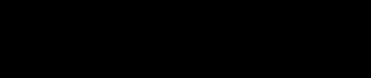 Quatres triangles équilatéraux qui montrent les différentes étapes de construction du triangle de Sierpinski